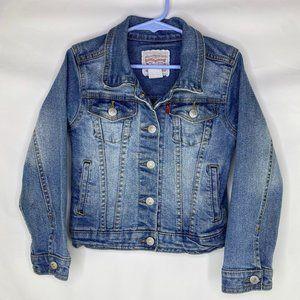 Levi's Kid's Classic Denim Trucker Jacket, Size 6